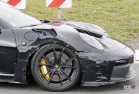 「究極のNA・911」ポルシェGT3 RSの最終デザインが見えた! - Porsche 992 GT3 RS 9