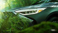 スバル初のEVクロスオーバー「ソルテラ」のティザーイメージが公開。トヨタ bZ4Xとの違いは? - subaru-solterra-headlight