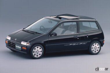 1988年発売のトゥデイ、要望に応えて軽乗用車も追加設定
