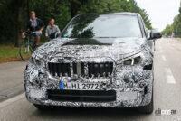 見えた湾曲ディスプレイ! BMW X1次期型、内部写真を入手 - BMW X1 1
