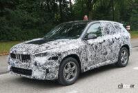 見えた湾曲ディスプレイ! BMW X1次期型、内部写真を入手 - BMW X1 4