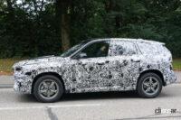 見えた湾曲ディスプレイ! BMW X1次期型、内部写真を入手 - BMW X1 8