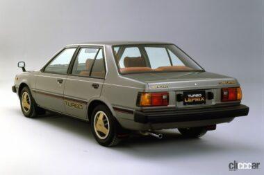 1982年発売ルプリの後ろ外観、ターボ車とは思えない落ちつたスタイリング