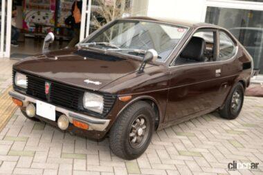 1971年発売のフロンテクーペ