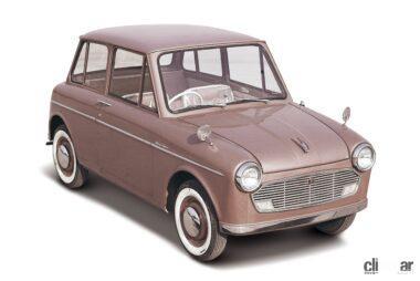 1962年発売のスズライトフロンテ