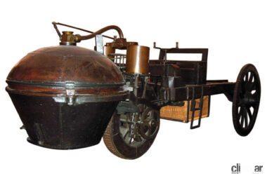再現されたキュニョーの蒸気砲車2号車(C)Creative Commons