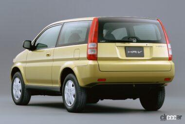 1998年発売のHR-V、軽快かつシャープなスタイリング