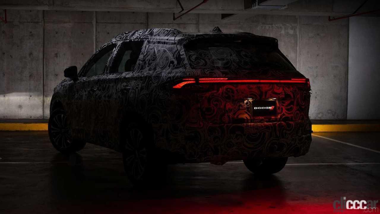 「ダッジが新型SUVを予告。アルファロメオ「トナーレ」との関係とは?」の4枚目の画像