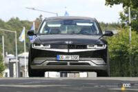 最大600馬力!ヒュンダイ初の電動「N」モデルがアイオニックに設定へ - Spy shot of secretly tested future car