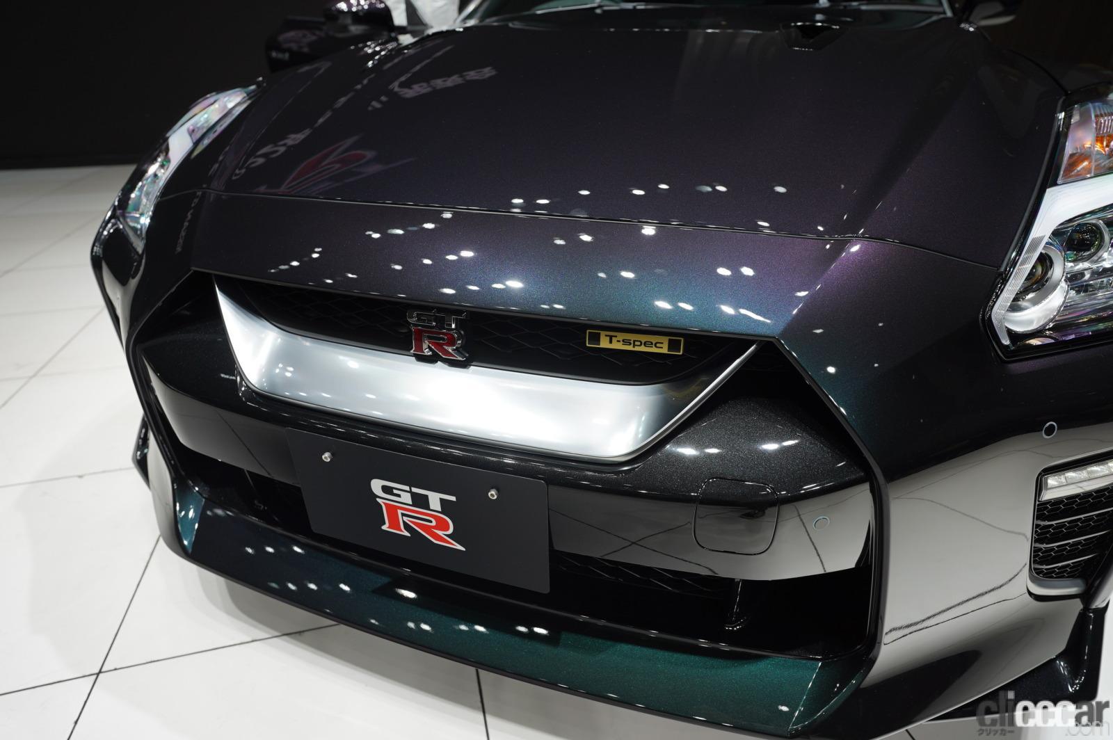 「日産GT-R2022年モデルが発表!! R33/R34を思い出す「あの色」の特別仕様車も!」の2枚目の画像