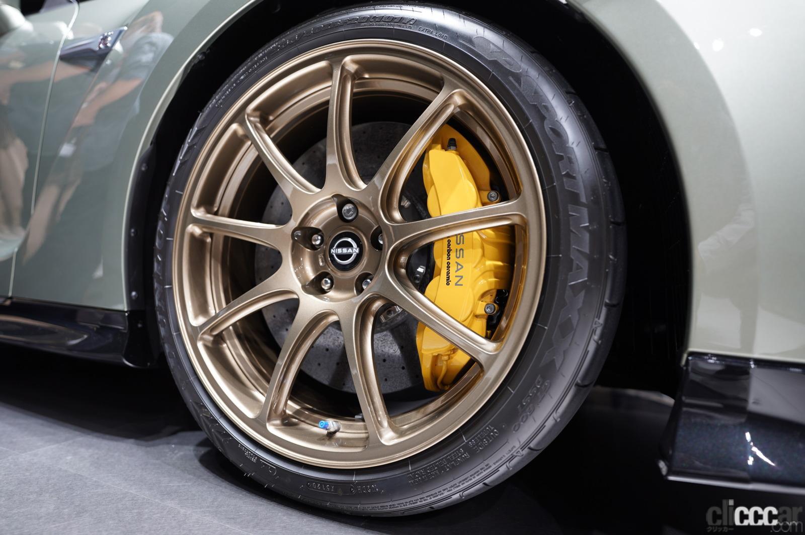 「日産GT-R2022年モデルが発表!! R33/R34を思い出す「あの色」の特別仕様車も!」の4枚目の画像