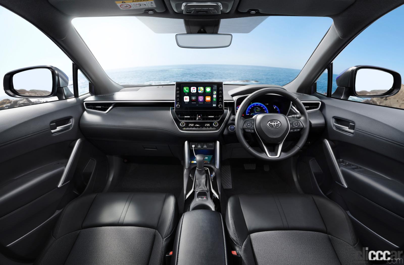 「トヨタ新型カローラ クロス発売。ボディサイズやラゲッジスペースはC-HRとどう違う?」の4枚目の画像