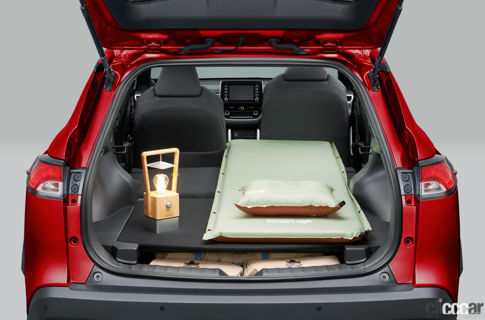 「トヨタ新型カローラ クロス発売。ボディサイズやラゲッジスペースはC-HRとどう違う?」の6枚目の画像