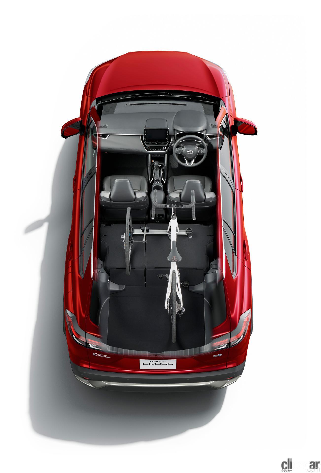 「トヨタ新型カローラ クロス発売。ボディサイズやラゲッジスペースはC-HRとどう違う?」の8枚目の画像