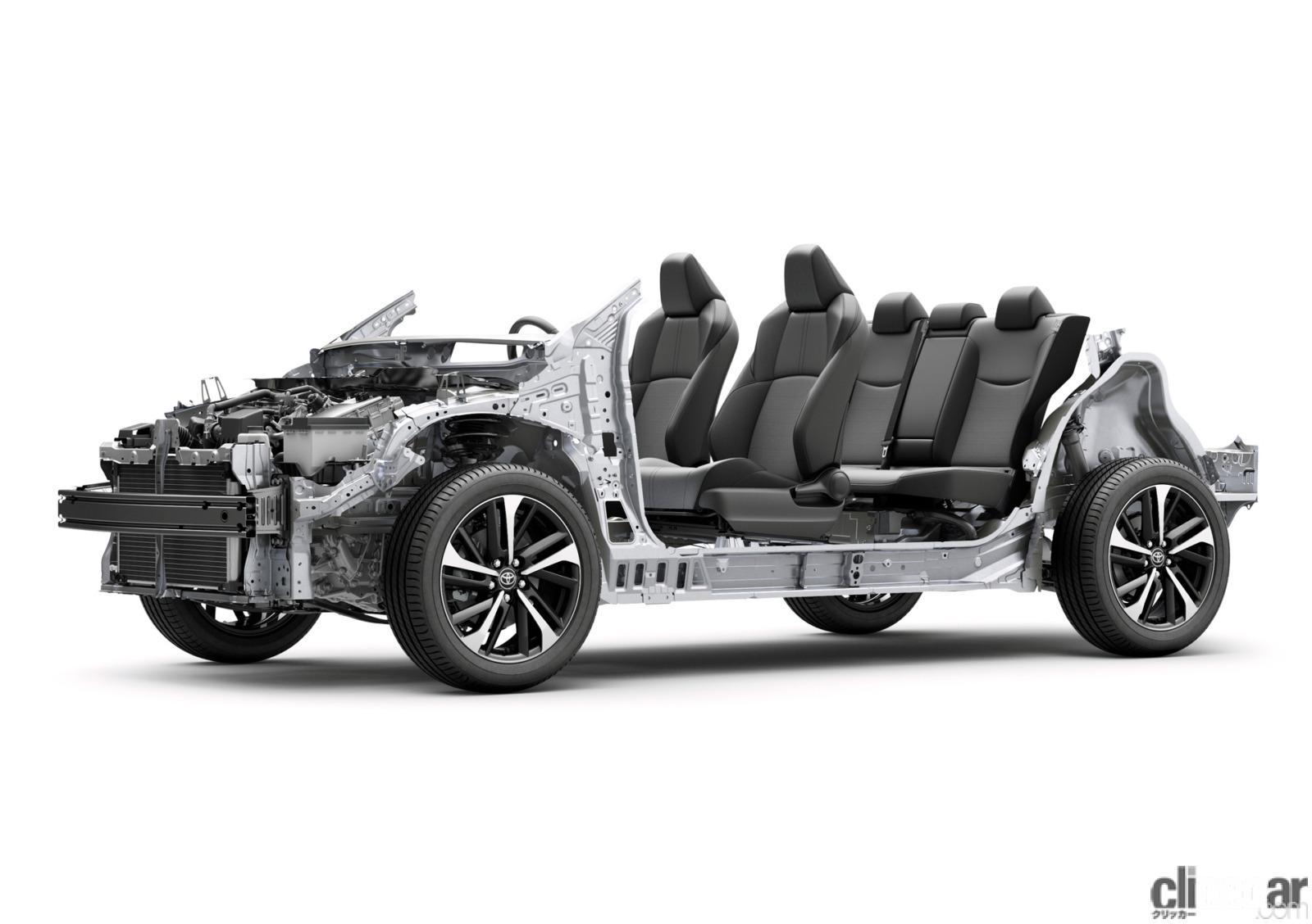 「トヨタ新型カローラ クロス発売。ボディサイズやラゲッジスペースはC-HRとどう違う?」の9枚目の画像