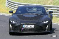 V12エンジン復活か!? アストンマーティン 究極のヴァンテージ「RS」設定の噂 - Spy shot of secretly tested future car