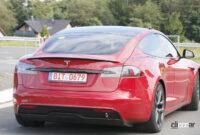 テスラ モデルSの最強グレード「ブラッド」がタイカンを抜きニュル世界最速量産EVに!【動画】 - Tesla Model S Plaid 10