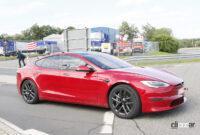 テスラ モデルSの最強グレード「ブラッド」がタイカンを抜きニュル世界最速量産EVに!【動画】 - Tesla Model S Plaid 4