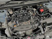 新型シビックに公道試乗。1.5Lターボ+6速MTはタイプRの走りを予感させる【週刊クルマのミライ】 - 11th_civic_mt_engine (2)
