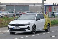 日本市場も狙うオペル アストラ「スポーツツアラー」の開発車両は美しいロングルーフが特徴に? - Opel Astra ST 20