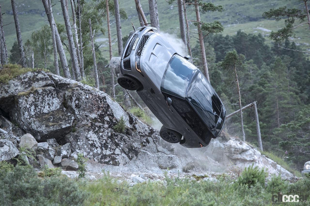 映画『007/ノー・タイム・トゥ・ダイ』にランドローバー史上最速のRANGE ROVER SPORT SVR登場