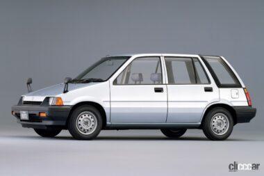 1983年発売の3代目シビックシャトル、ユーティリティを向上させたハイトワゴンスタイル