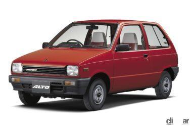 1984年発売の2代目アルト、フロンテと同時に発売したボンネットバン