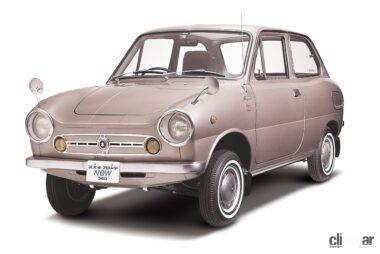 1967年発売の初代フロンテ、スズライトフロントの後継としてデビュー