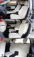 レクサスRX450hLのシート