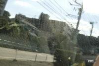 サイドガラスに着く水垢・油膜をクリアにする方法、いったいどうすればいい? - mottled pattern from outside