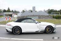 メルセデスAMG SL次期型、「サメ」のような攻撃的フロントマスクがついに露出! - Mercedes AMG SL63 6