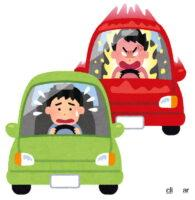 あおり運転の原因?追い越し車線を譲らないクルマを違反にならずに追い抜く方法を神奈川県警が公開 - car_jiko_aori_unten
