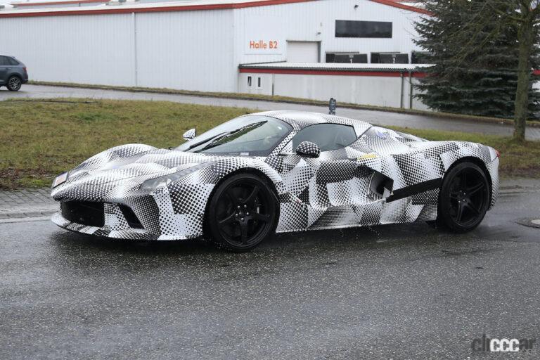 ラ・フェラーリ開発車両_005