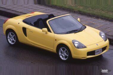 1999年発売のMR-S、ミッドシップのオープンスポーツ