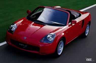 1999年発売のMR-S、軽快な走りと優れた操縦安定性