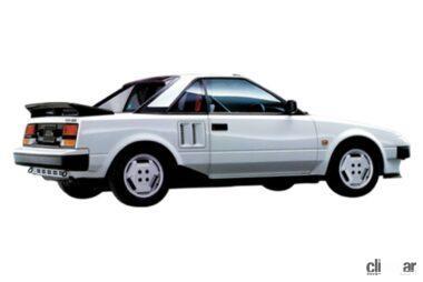 1984年発売のMR2、国産初のミッドシップスポーツ