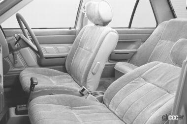 1981年発売の5代目サニーの内装、チープと評判は良くなかった