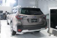 スバルのフラッグシップSUV「新型レガシィ・アウトバック」日本仕様の詳細判明!1.8Lターボで満タン1000km走る省燃費も魅力!! - レガシィアウトバック後ろ