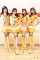 マシンカラーのオレンジでチェック柄をあしらったArnage Lovely Cats-ファイナリストコスチューム紹介【日本レースクイーン大賞2021】 - arnage002