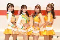 マシンカラーのオレンジでチェック柄をあしらったArnage Lovely Cats-ファイナリストコスチューム紹介【日本レースクイーン大賞2021】 - arnage003