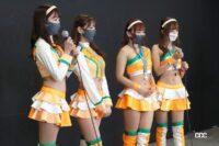 マシンカラーのオレンジでチェック柄をあしらったArnage Lovely Cats-ファイナリストコスチューム紹介【日本レースクイーン大賞2021】 - arnage005