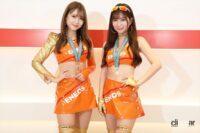 ゴールド&オレンジでマシンのカラーを完全再現なENEOS GIRLS-ファイナリストコスチューム紹介【日本レースクイーン大賞2021】 - eneos001