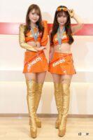 ゴールド&オレンジでマシンのカラーを完全再現なENEOS GIRLS-ファイナリストコスチューム紹介【日本レースクイーン大賞2021】 - eneos002