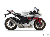 伝統の「白赤ストロボ」も復刻!ヤマハの1000ccスーパースポーツ「YZF-R1M/R1」に2022年モデルが登場 - 2022_yamaha_yzf-r1_60th_02