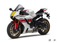 伝統の「白赤ストロボ」も復刻!ヤマハの1000ccスーパースポーツ「YZF-R1M/R1」に2022年モデルが登場 - 2022_yamaha_yzf-r1_60th_2_01