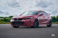 ホンダが新車のオンライン販売を開始。将来的に営業スタッフは消滅する!?【週刊クルマのミライ】 - 01 2023 Honda Civic Type R - Camo
