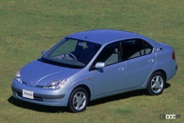 1997年発売の初代プリウス、空気抵抗Cd:0.30はセダントップクラス