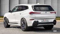 BMWの巨大SUV「X8」、BMW史上最大の破壊力に!? - 2023-bmw-x8-rendering-based-on-latest-spy-photo-2