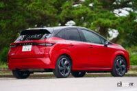 日産ノート・オーラのスムーズな走りと静粛性の高さは、コンパクトカーを超えたハイクオリティを実感できる - Nissan_Noto_AURA-20210917-00027