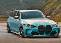 BMW M3初のツーリング、市販デザインを大予想!登場は2021年内か? - BMW M3 Touring_001